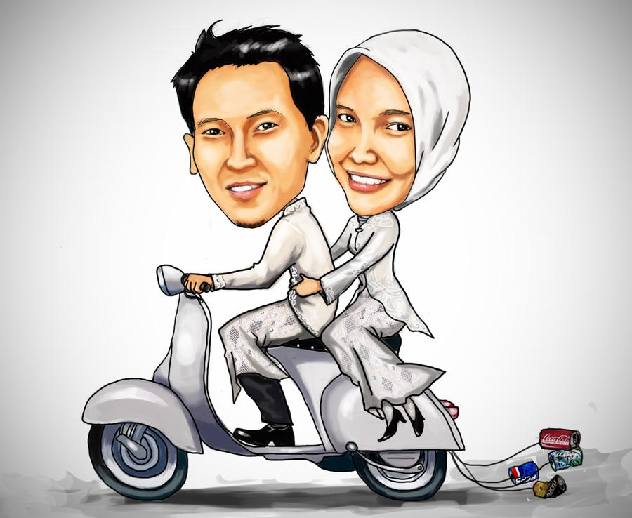 Karikatur Pernikahan – Wedding Carricature