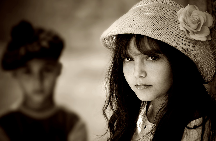 The Girl and Boy..............
