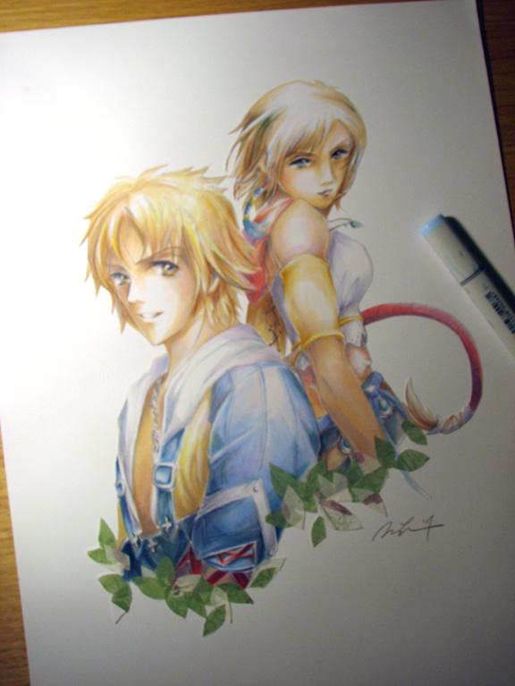 Tidus+Yuna by alicia-lee