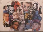 Villains collage