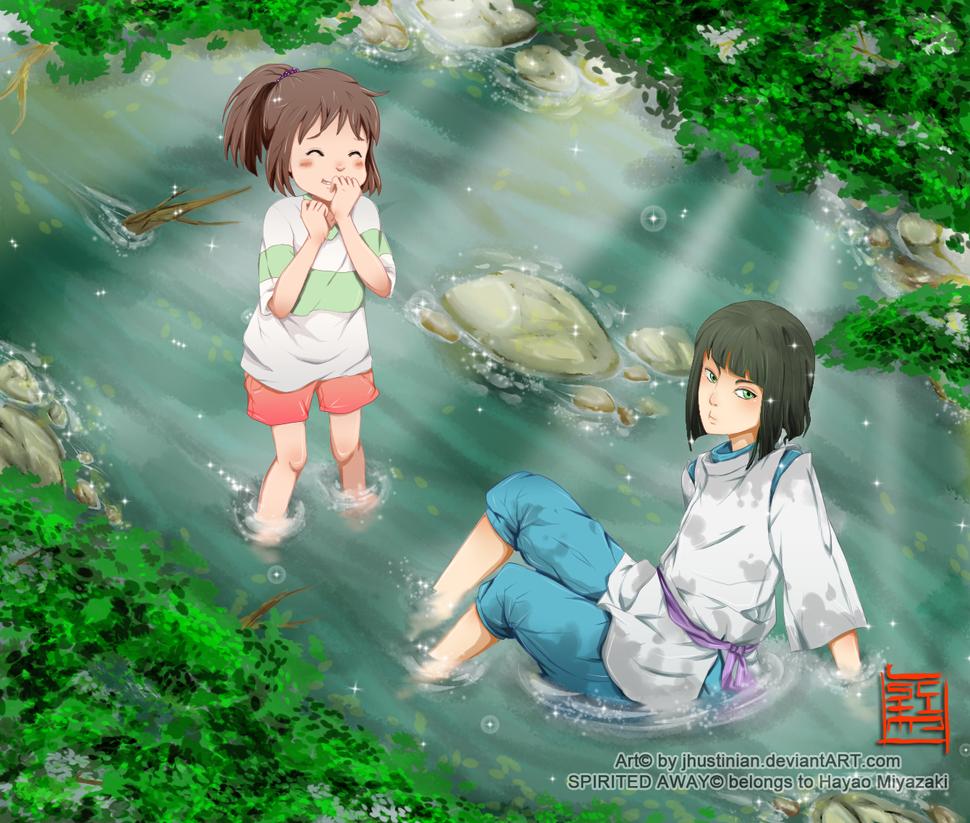 haku and chihiro meet again fanfiction percy