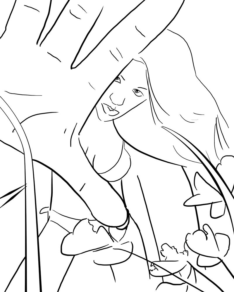 Beanstalk coloring pages
