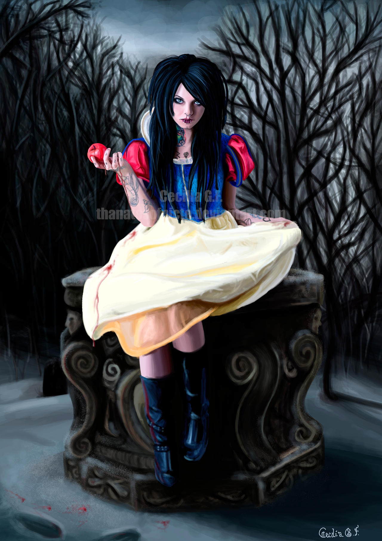 Snow White by CeciliaGf