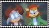 Jim and Jane stamp by Danitheangeldevil