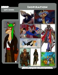 Nate Bowen character inspiration