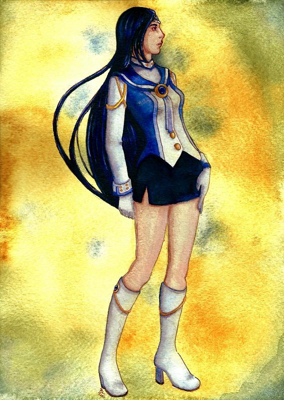 OSI 2012 Entry: Sailor Nethuns by thebluelolita