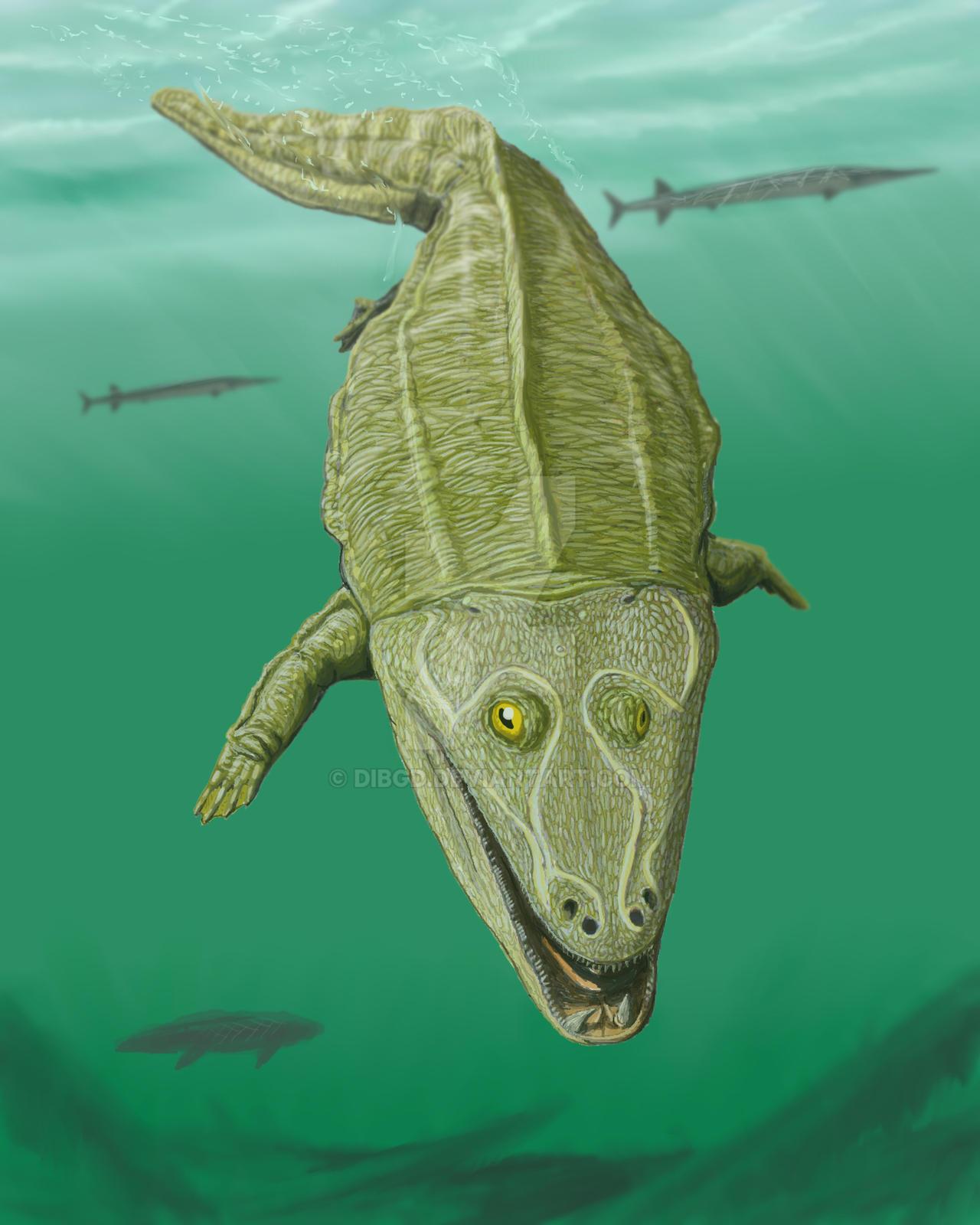 Mastodonsaurus giganteus by DiBgd