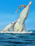 Giant pliosaur