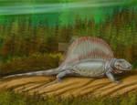 Dimetrodon milleri by DiBgd