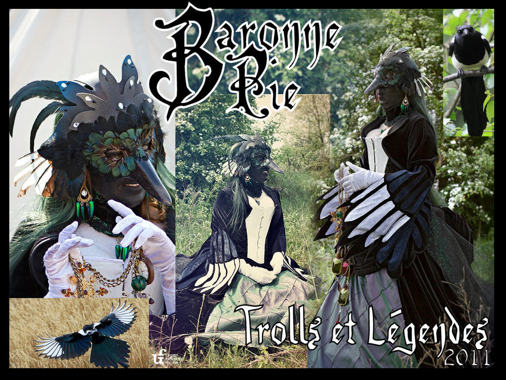 Baronne Pie by giz-art