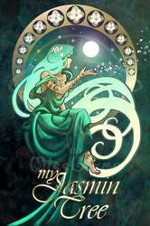 The Jasmin tree by giz-art