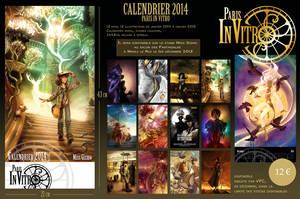 Paris in Vitro - VPC - 2014 Calendar by giz-art
