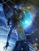 Paris in Vitro Constellation serie - Kriss by giz-art