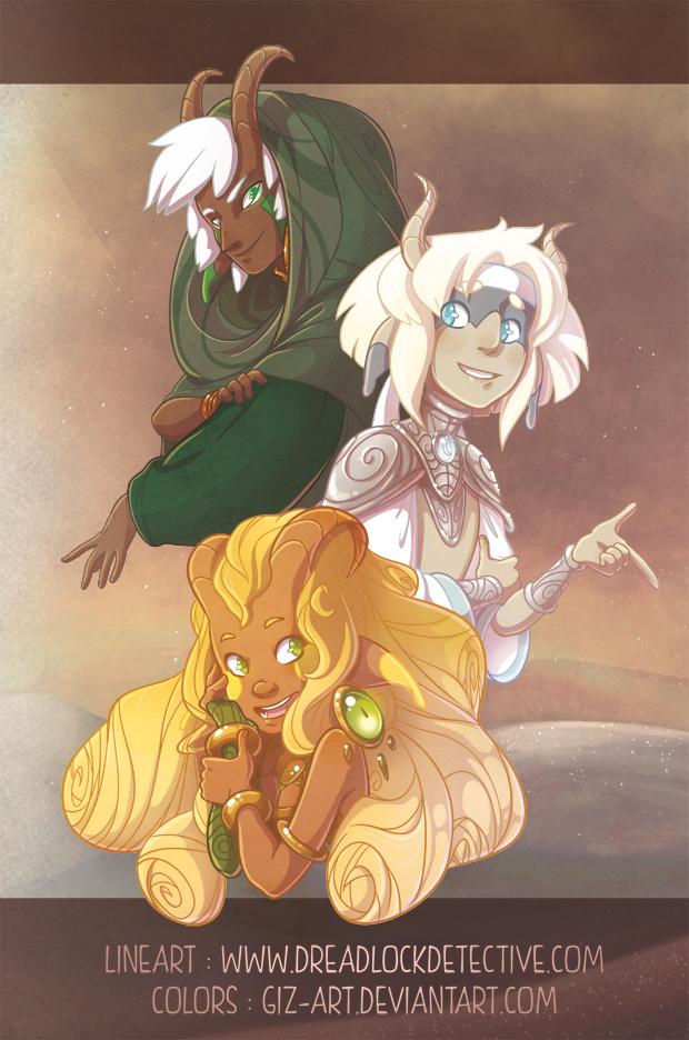 Three sules by giz-art
