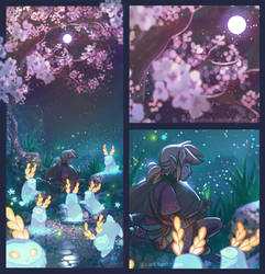 Blupee sanctuary - Breath of the wild by giz-art