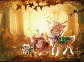 Fall-ing for you - Prompt by giz-art