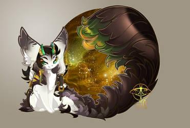 [Prompt] Winter Gifting Spirit - Loki by giz-art