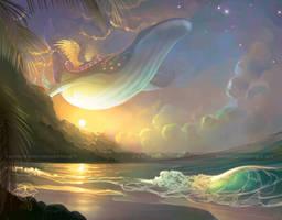 Ballad of the Windfish by giz-art