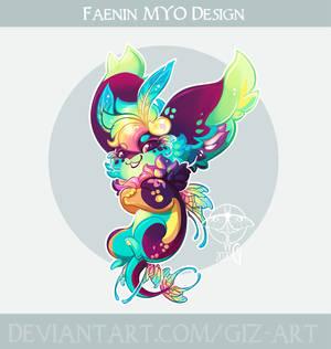 MYO Faenin design - Creepy Rainbow