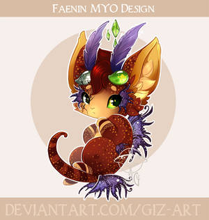 MYO Faenin design - Morningstar's Enchantment