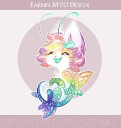 MYO Faenin design - Cute Rainbow