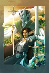 Commission : Changeling Couple