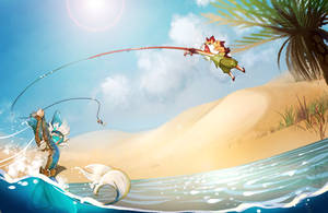 Elnin prompt : Fishing with Finesse