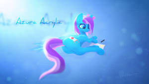 Azure Acrylic