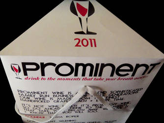 Prominent Wine 2011 Branding by sdelz89