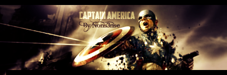 Captain America sig by TheNons3nse
