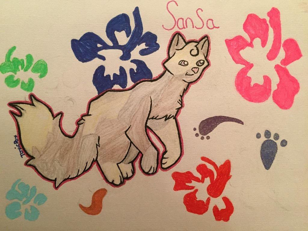 Sansa! by FoxAutumn