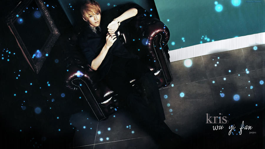 EXO-Kris- wallpaper by dangerous-love on DeviantArt