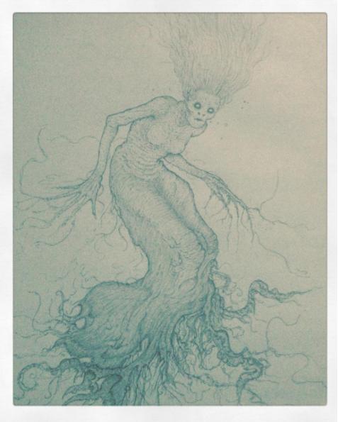 Nymph / Siren / Mermaid / Dryad by valleytroll