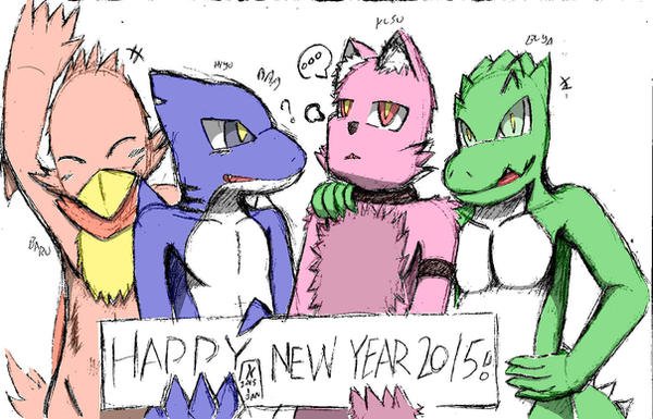 Happy New Year ! by Kanamichi-Kun