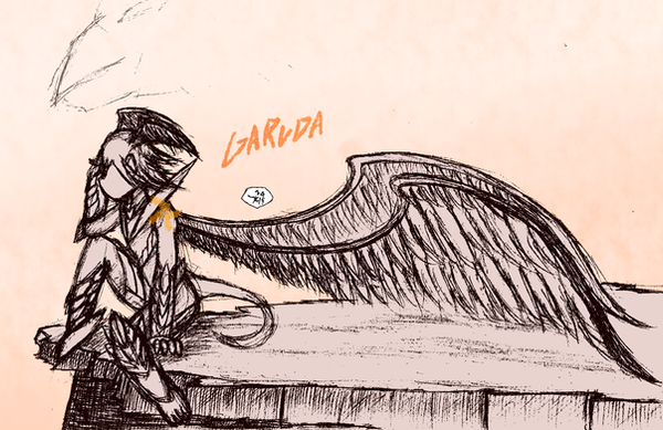Character Design : Garuda by Kanamichi-Kun
