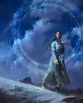 A Star-Reckoner's Lot - Book Cover Illustration