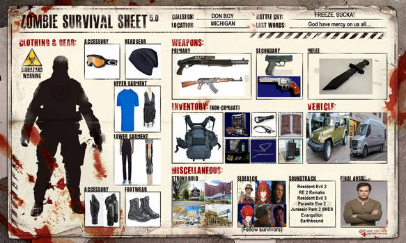 My Zombie Survival Layout