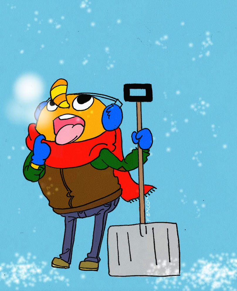 Snow Day by FortunateBacon