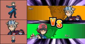 Pokemon White Hack: Elite Four Hanbei (Conquest) by