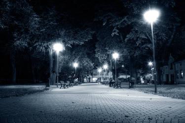 City in Night 3