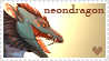 Neondragon Love by TopazDragon19