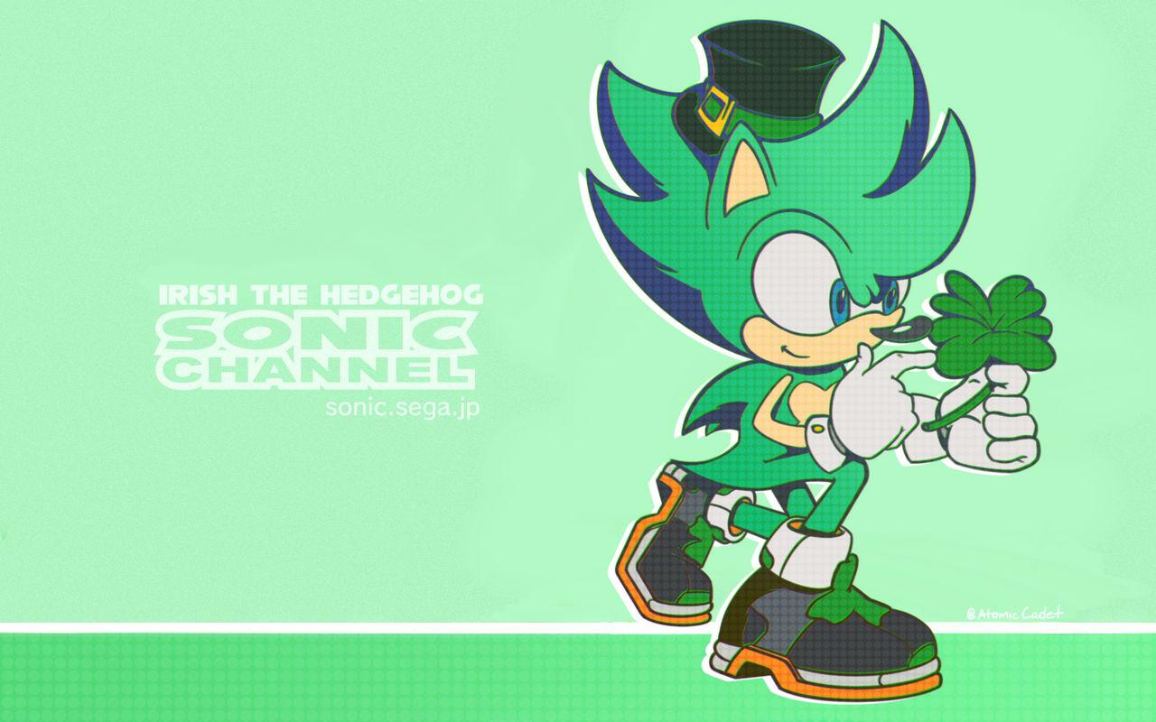 Irish The Hedgehog 2020 Sonic Channel Wallpaper By Atomiccadet On Deviantart