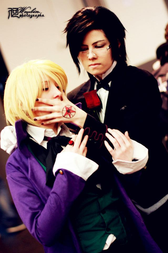 Claude And Alois Cosplay