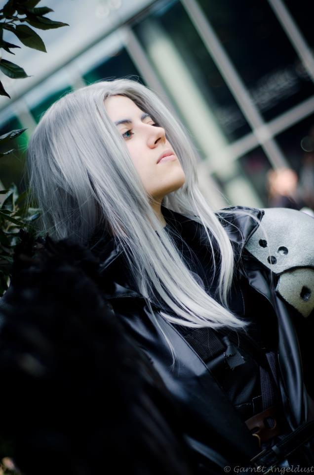 Sephiroth 'I remembered black skies' by Hirako-f-w
