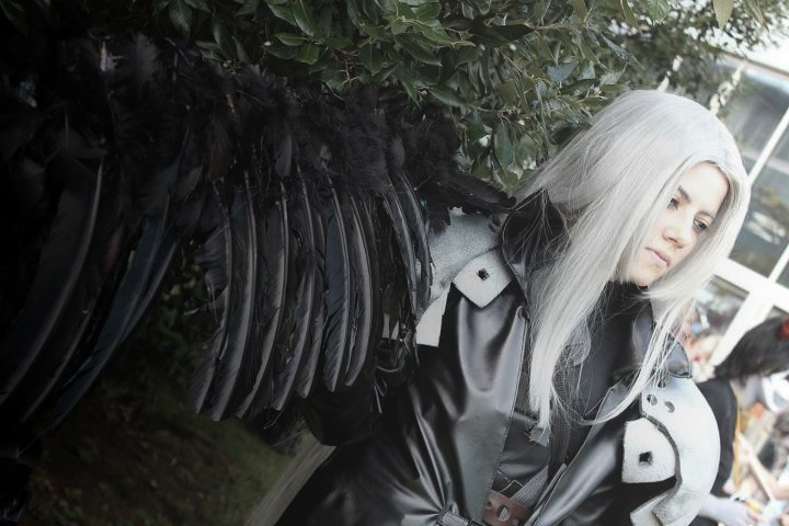Sephiroth 'The worst kind of pain' by Hirako-f-w