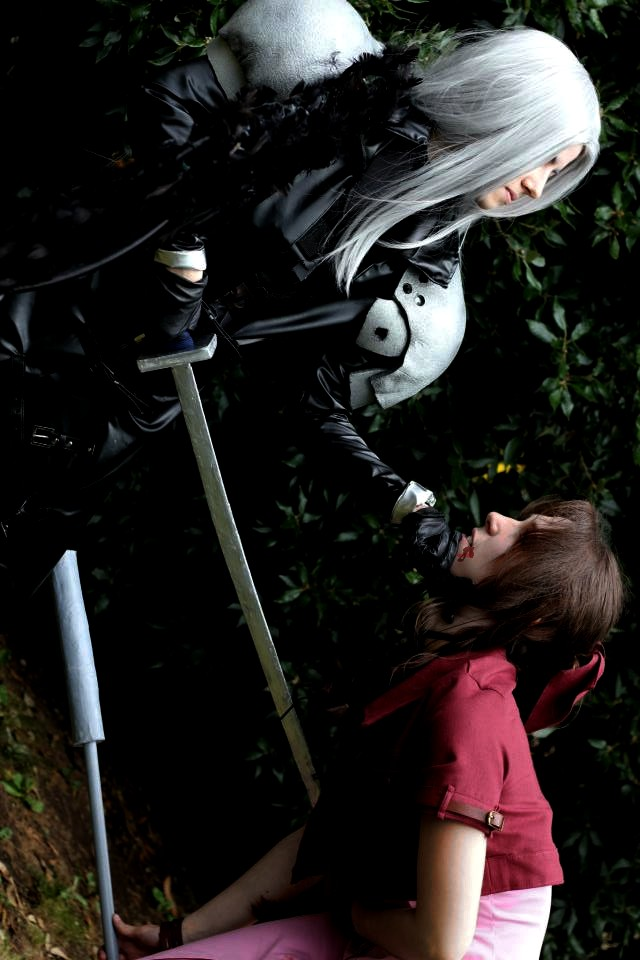 Sephiroth Aerith 'Self Oblige' by Hirako-f-w