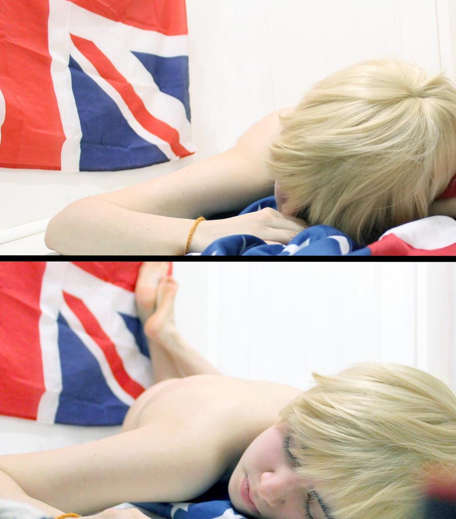 HETALIA England 'Sleeping with the stars' by Hirako-f-w
