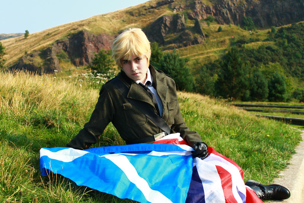 Hetalia UK England 'Beyond My Highlands' by Hirako-f-w