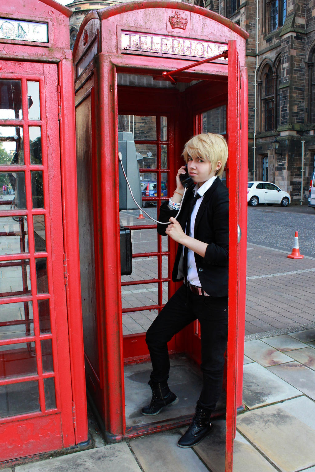 Hetalia UK England 'Gentle call' by Hirako-f-w