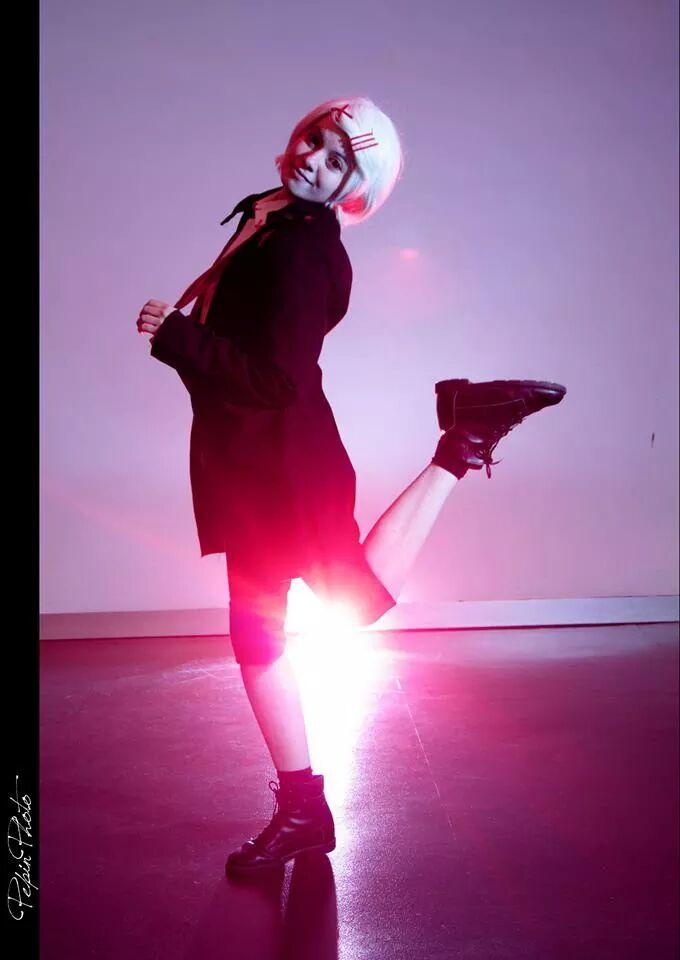 TOKYO GHOUL Juuzou Suzuya 'Shoot me!' by Hirako-f-w